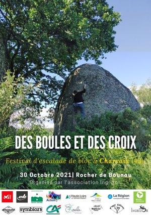 """Festival d'escalade sur blocs """"Des Boules et des Croix"""""""