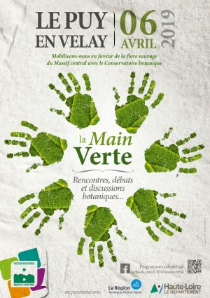 La Main Verte - Rencontres publiques du Conservatoire botanique