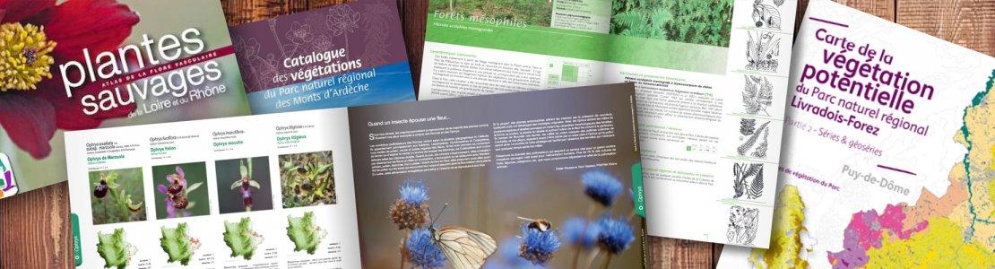 Atlas, flores, catalogues… et autres ouvrages de référence