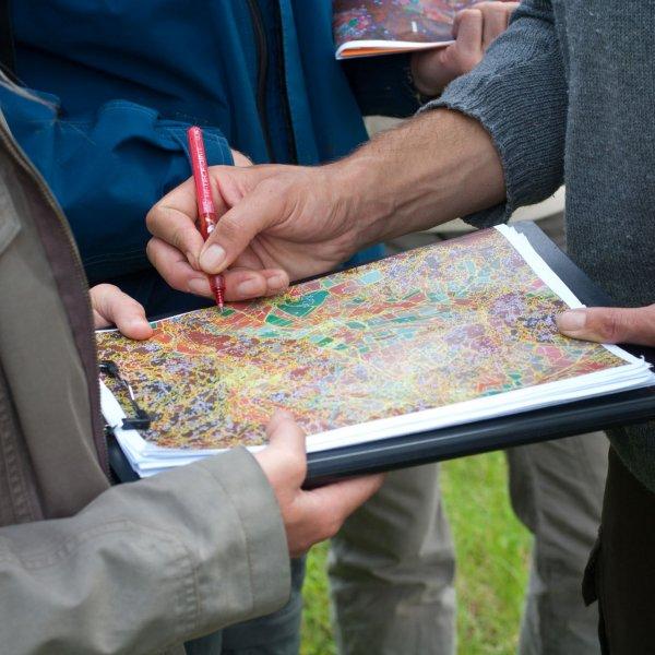 Etude et cartographie de la végétation © S. PERERA / CBNMC
